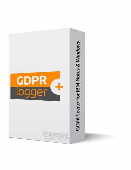 GDPR Logger for IBM Notes and Windows